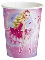 Barbie kelímky na pití 8ks 025l