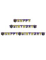 Želvy Ninja narozeniny nápis 180 x 15cm