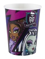 Monster High 2 kelímek na pití 8ks 0,25l