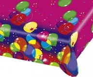Ubrus balon party 120cm x 180cm