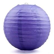 Lampion fialový 25cm