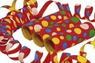 Serpentýny konfety 4 metry 3ks