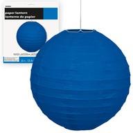 Lampion modrý 25cm
