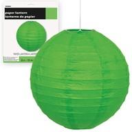 Lampion zelený 25cm