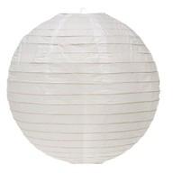 Lampion bílý 25cm