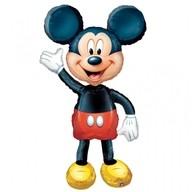 Chodící balonek foliový Mickey Mouse 132 cm
