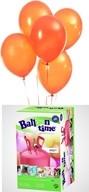 Helium Balloon time + balónky oranžové 30ks