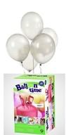 Balloon time + LED bílé balónky 16ks