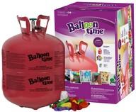 Helium Balloon time sada 50 ks + balónky 50ks mix barev