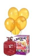 Helium Balloon time sada 50ks balónky Yellow