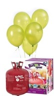 Helium Balloon time sada 50ks balónky Apple Green