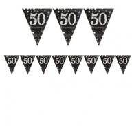 Vlajka 50. narozeniny 4 m