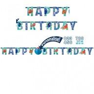 Hledá se Dory narozeniny nápis s číslem k nalepení 180cm x 15cm