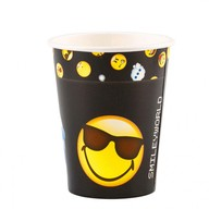 Smiley Emoticons kelímky 8ks 250ml