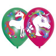 Jednorožec balonky 6 ks 27,5 cm