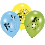 Krtek balónky mix 6 ks 22,8 cm