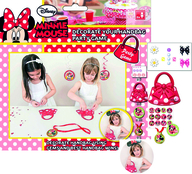 Minnie Mouse hra - dekorace kabelky