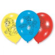 Tlapková patrola balonky 6ks 23cm