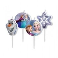 Frozen svíčky 4ks