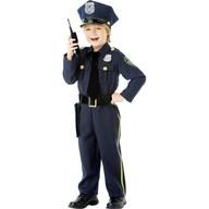 Kostým Policie 4–6 let, 110 cm