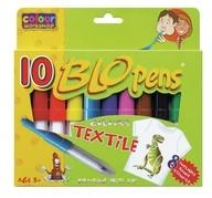 Foukací fixy 10ks Textile