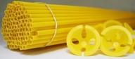 Plastový držák na balonek žlutý