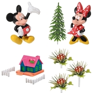 Mickey a Minnie dekorace na dort