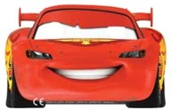 Cars maska 6ks