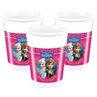 Frozen kelímky plastové 8ks 200ml
