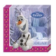 Frozen Olaf ubrousky 20ks 33x33cm
