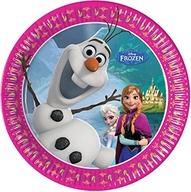 Frozen talíře 8ks 20cm
