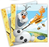 Olaf sněhulák ubrousky 20ks 33x33cm 2-vrstvé