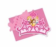 Princess pozvánky 6ks