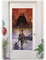 Star Wars plakát na dveře 76cm x 152cm