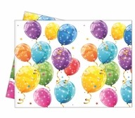 Ubrus balónky 120cm x 180cm