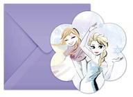 Frozen pozvánky na party 6 ks