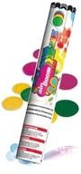 Vystřelovací konfety 25cm - barevný mix
