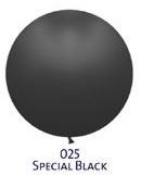 Obří balón - JUMBO - 025 BLACK