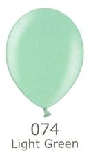 Balónky metalické - 074 LIGHT GREEN