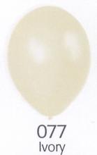 Balónky metalické - 077 IVORY - slonová kost