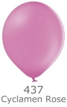 Balónky tmavě růžové - cyklamen
