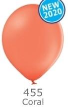 Balónek 455 CORAL RED - lososová
