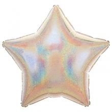 Balónek hvězda stříbrná
