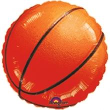 Basketbal foliový balónek 45cm