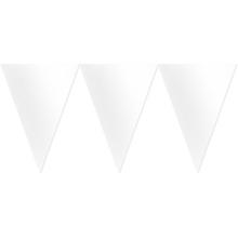 Vlajka bílá 450cm