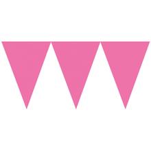 Vlajka růžová 450cm