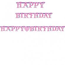 Princess narozeniny nápis 2,1m x 16cm