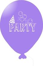 Balónky PARTY fialové 1 ks