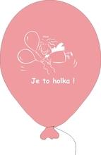 Balónky k narození holčičky