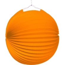 Lampion oranžový 25cm
